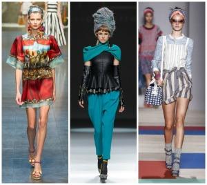 Turbantes presentes en las colecciones de Dolce & Gabbana y Max Mara