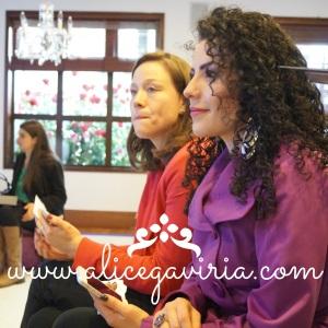 """Con la preciosa Claudia Ríos del blog """"Cremitas perfumadas"""""""