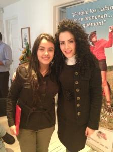 Aquí con Stephania Correa analista de Marketing de FancyBox