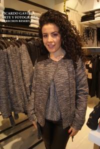 Yo no me aguante las ganas y aquí con una linda chaqueta en paño lana .
