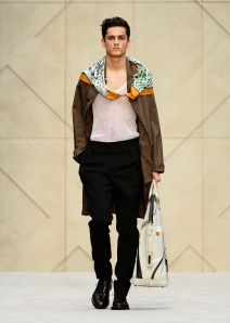 Burberry Prorsum Menswear Autumn_Winter 2014 - Look 1