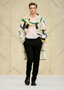 Burberry Prorsum Menswear Autumn_Winter 2014 - Look 2