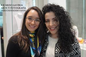 Biviana Buitrago (Mánager para España y Latinoamérica)  con una hermosa pañoleta FREYWILLE