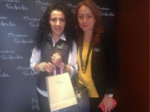 Carolina Palacio Jefe de prensa de Natura y una de las gestora del mejor evento al que he asistido.