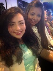 Julieth Estrada y mi hija Mafe.