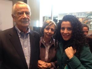 Mauricio Glauser y su esposa María Clara Tovar de Glauser