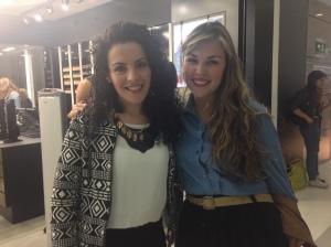 Siempre es un gusto encontrarme con la bella María Alejandra Ramírez en Fedco