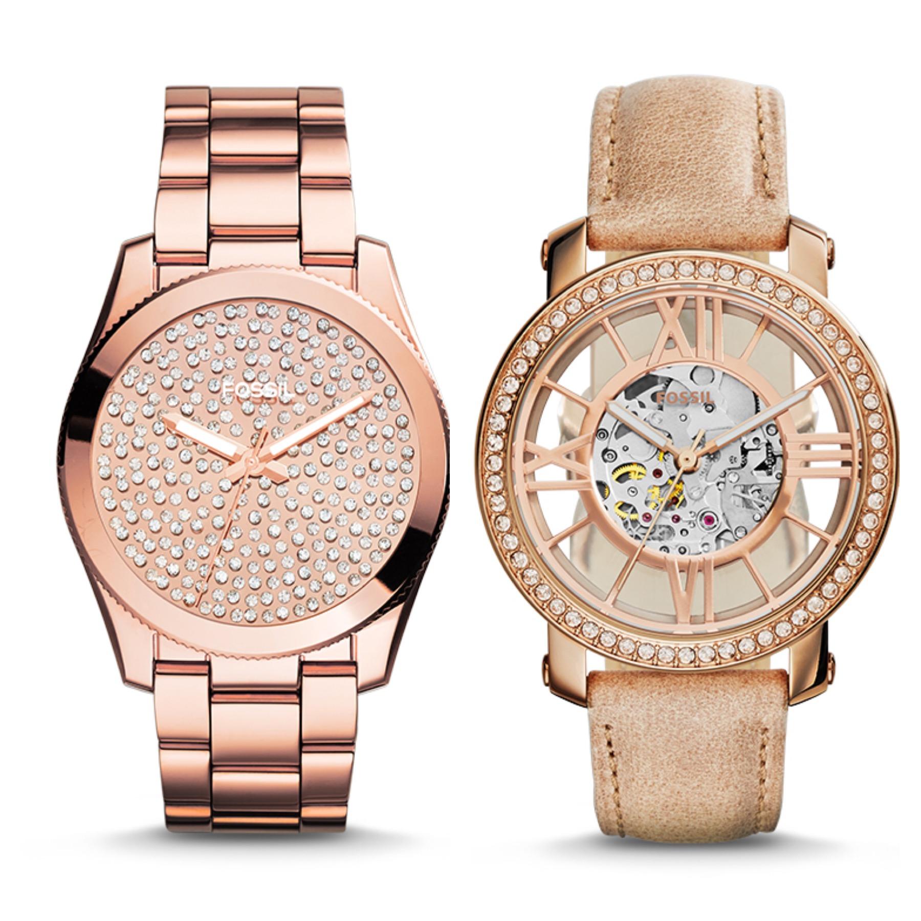 Reloj Fossil Oro Rosa