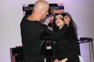 Iván artista Gosh, maquillaje exclusivo Fedco.