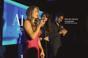Maleja Restrepo también hizo parte de la noche Alpha Avon