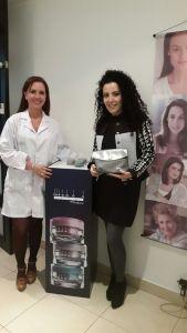 Inicié el #DesafioNaturaChronos en el consultorio de la dermatóloga Hilda Herrera quien hizo una profunda valoración de mi piel y quedamos de volvernos a ver el 31 de marzo para ver los cambios.