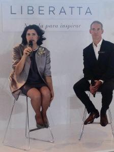 La diseñadora María Luisa Ortiz fue la presentadora junto al maestro perfumista Arnaud Winter  de Lideratta.