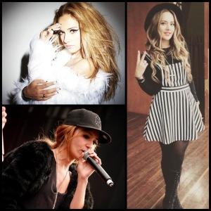 """Paty en sus diferentes facetas: modelo, cantante y profe de técnica vocal. """"Looks diferentes para ocasiones diferentes"""""""