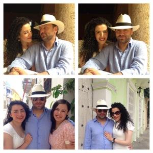 Que tu tiempo en familia se convierta en bellos recuerdos  para la eternidad. Aquí con mi guapo esposo Ricardo Gaviria y mis hijas Mafe y Pili