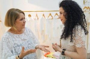 Con Ketty se charla delicioso, transmite toda la pasión y el amor con lo que crea sus diseños!