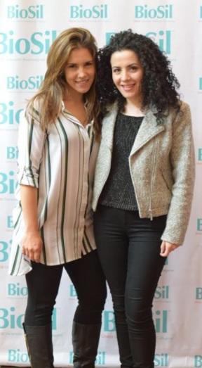 Andrea Montoya, bella embajadora Biosil