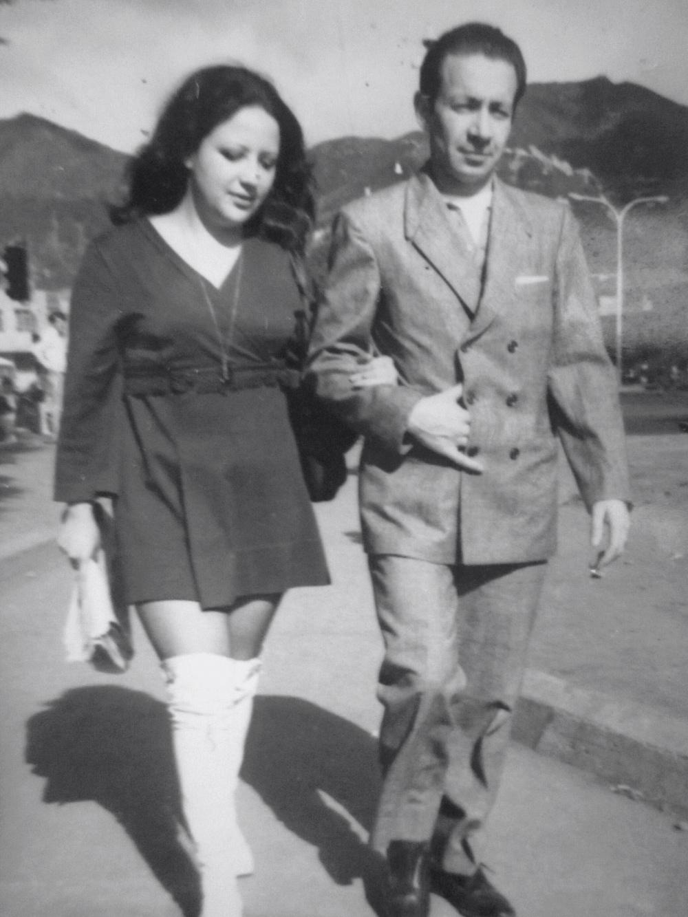 Esta pareja tan guapa son mis padres: